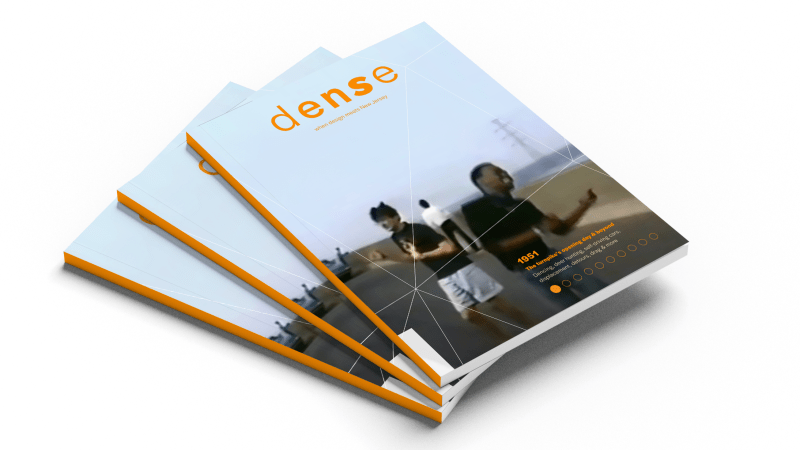 Thumbnail for Design and New Jersey Have a Date With Dense Magazine