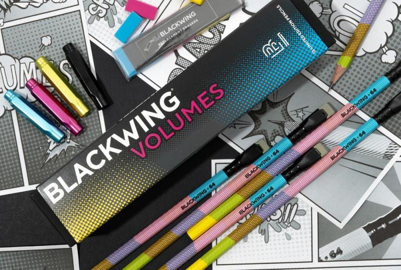 Thumbnail for Beloved Pencil Purveyor Blackwing Releases a Comic Book-Inspired Special Edition Design