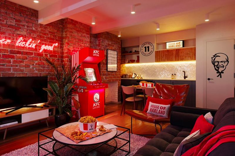 Thumbnail for KFC Unveils a Finger Lickin' Good Pop-Up Hotel