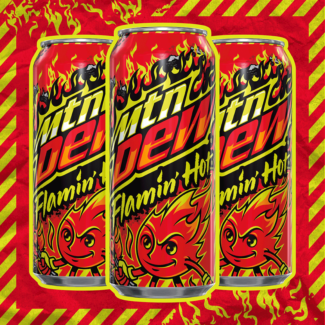 Thumbnail for Get Fired Up For The MTN DEW x FLAMIN HOT Cheetos Drink