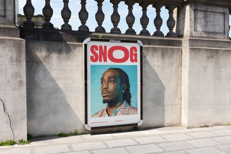 Thumbnail for Snog Productions Gets a Kissable Brand Makeover That's Red Carpet-Ready