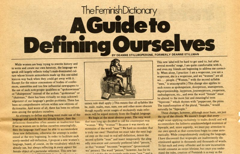 Thumbnail for The Daily Heller: Before the Pronouns