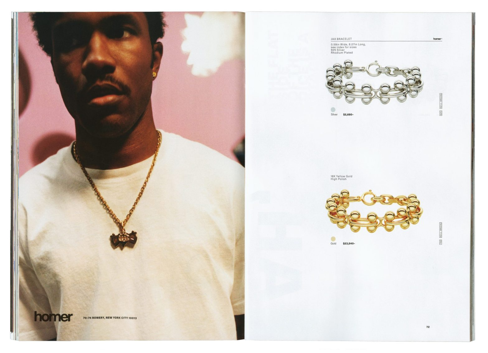 Thumbnail for Because Music Wasn't Enough, Frank Ocean is Now in The Jewelry Business With New Brand Homer