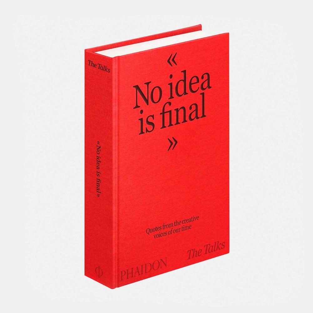 The Talks - No Idea Is Final Book