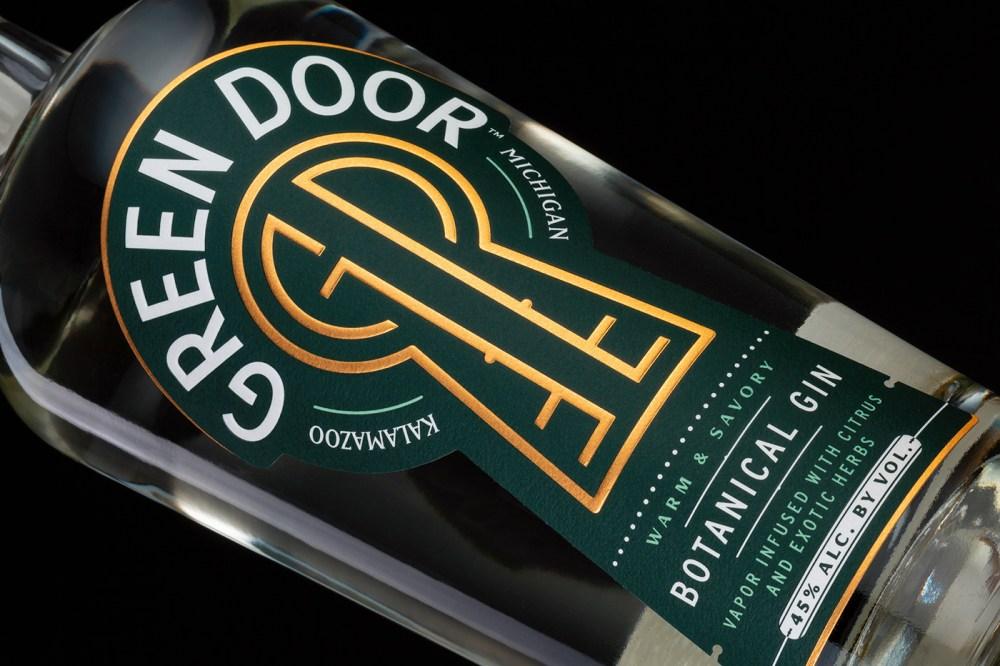 Green Door Distilling's Packaging Design