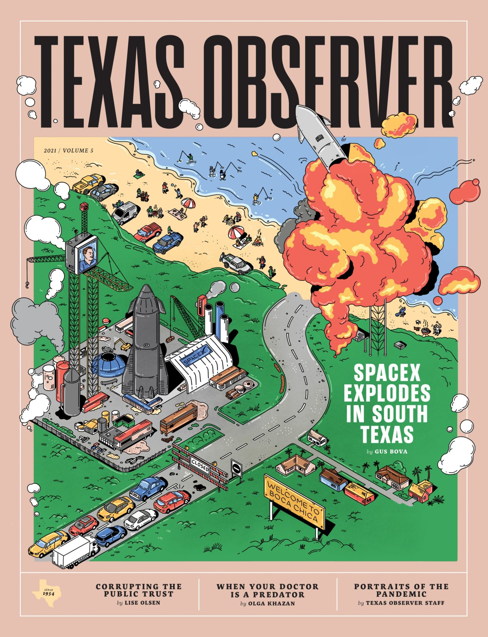 Thumbnail for Texas Observer's Rebrand Provides A Vibrant Way Of Staying Up To Date