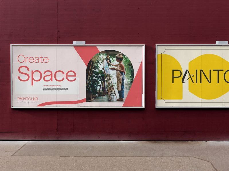 Thumbnail for Paintclub's Digital-First Rebrand by Agency fst
