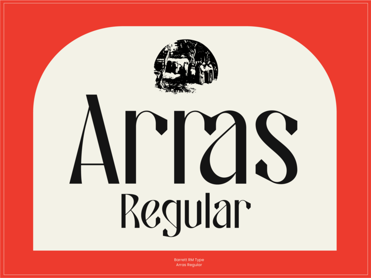 Thumbnail for Typeface Arras Works With A Multitude Of Design Styles