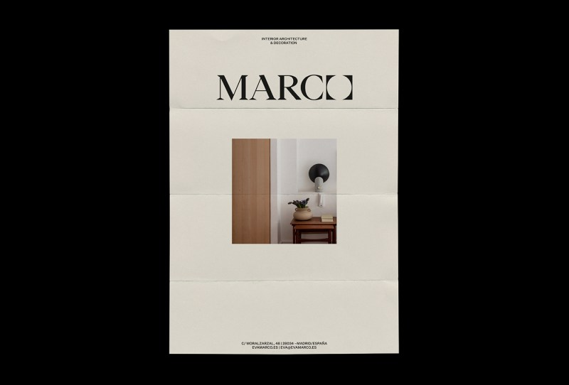 Thumbnail for fagerstrom's Identity For Marco Interior Design is Effortlessly Simplistic