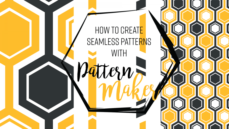 Seamless patterns illustrator pattern maker