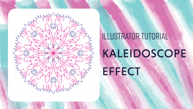 Kaleidoscope Effect with Adobe Illustrator