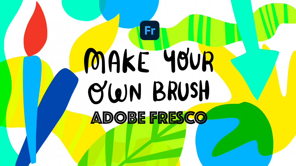 create a brush in Adobe fresco