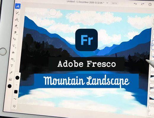 Mountain Landscape - Adobe Fresco Tutorial
