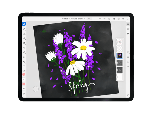 Adobe Fresco, adobe fresco tutorial, digital art