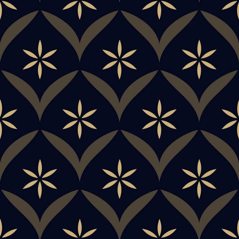 Intricate Floral Peel And Stick Wallpaper 3