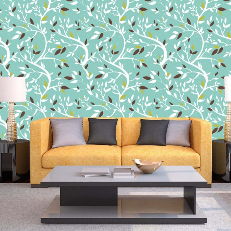 Swaying Branches Pattern Peel And Stick Wallpaper 1