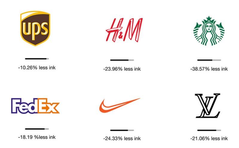 Logos conçus en éco-branding