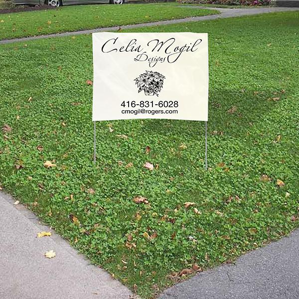 Lawn Bag Signs