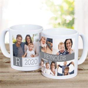 Personalised Photo Collage Mug | Family Memories Printed | Family Memories Cup | Photo Collage Mug