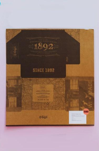 SILVER AWARD: Weinbrenner 1892 Wisconsin Collection Thorogood Premium Footwear carton, WestRock Adams