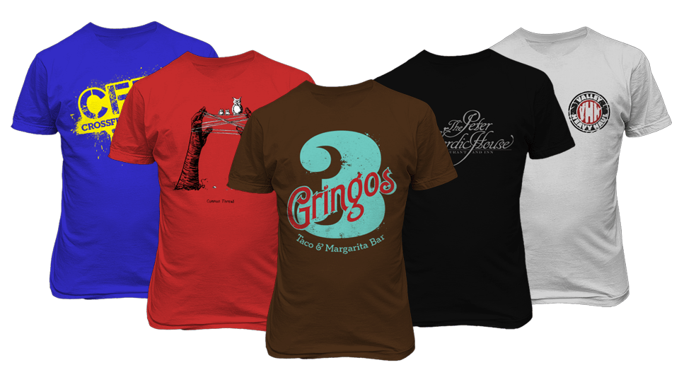 Full Color Printed T-shirts Online - Printroo Australia