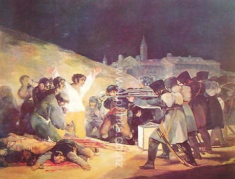The Execution Of Rebels Of 3 May 1808 By Francisco Goya