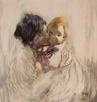 Mother And Child By Frances Hodgkins New Zealand Fine Prints