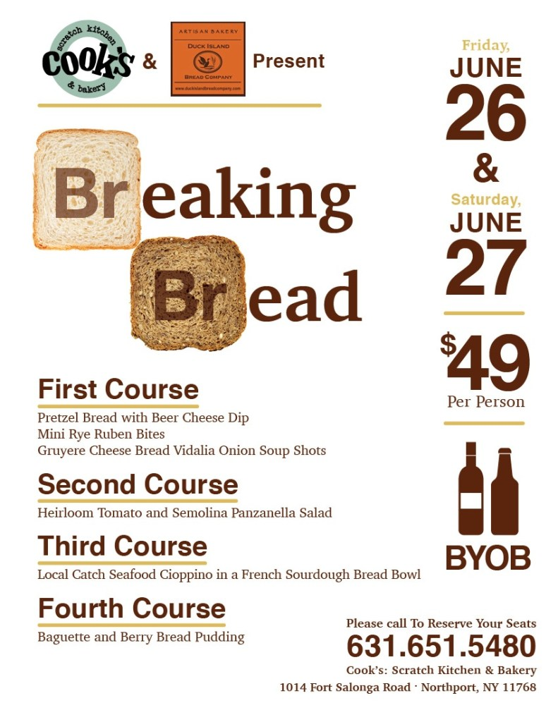 Breaking Bread Flyer
