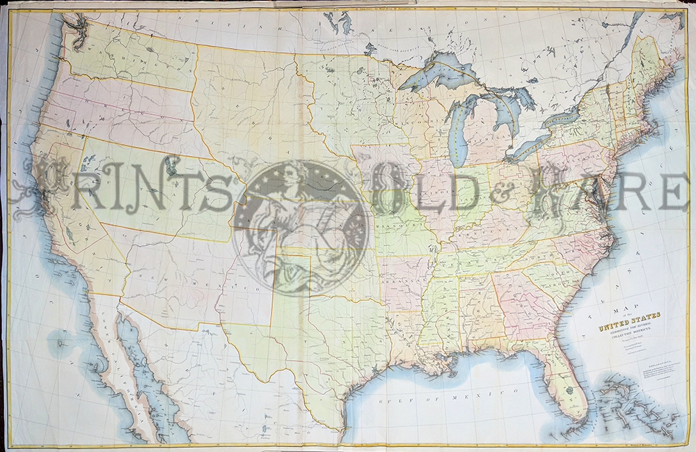 United States Historical Maps Perry Casta