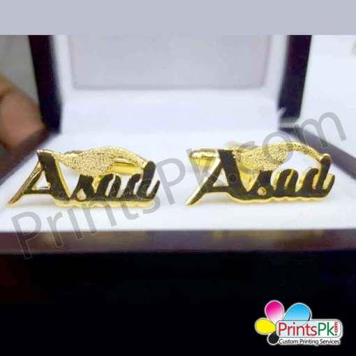 Asad Name Cufflinks