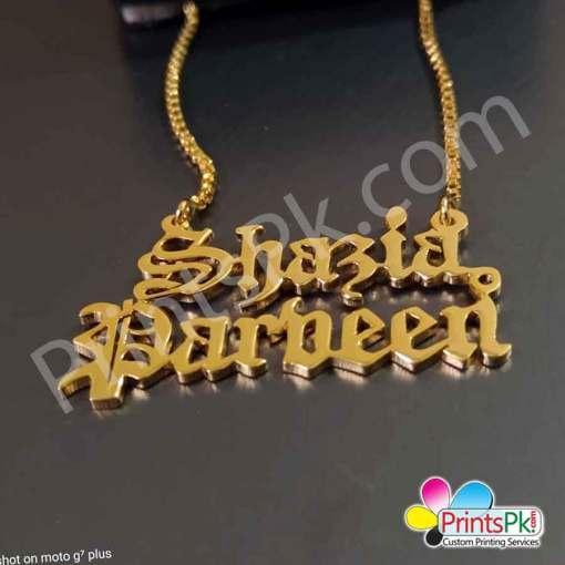 Shazia Name Locket