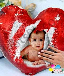 Magic Pillow Heart Shape with photo