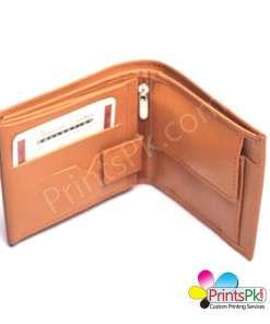 Mustard Plain Wallet inner pocket