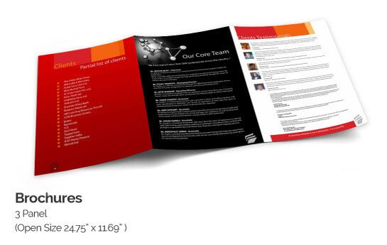 Online Brochure Printing   Designs with Quality Brochure Templates Brochure Template