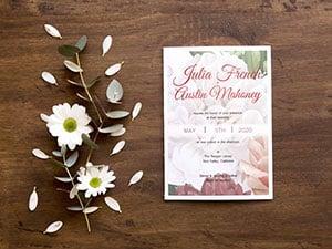 Custom Invitation Cards by Print Wow