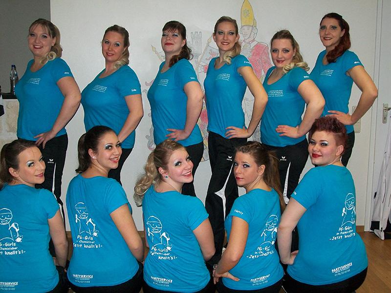 "PG-Girls Motto 2013 ""Jetzt knallt's"""