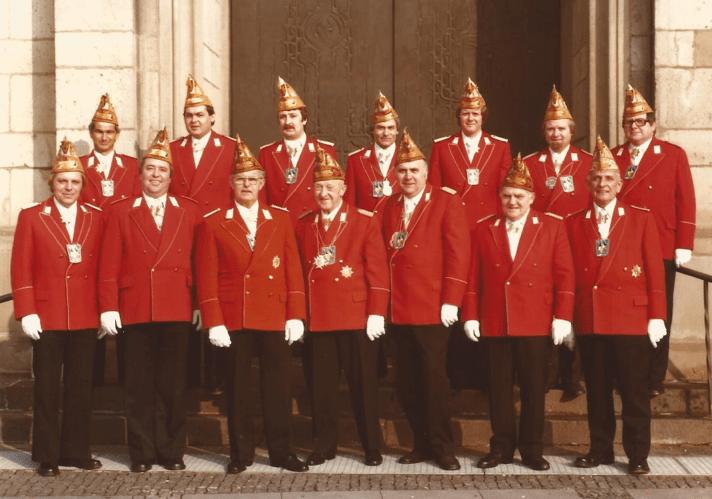 Knubbel Gruppenfoto 1974