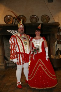 Prinz Kai I. (Engels) und Prinzessin Andrea II. (Einig)