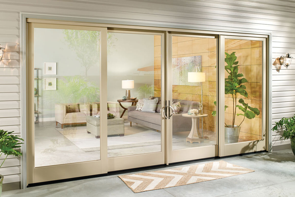 what is a folding glass door
