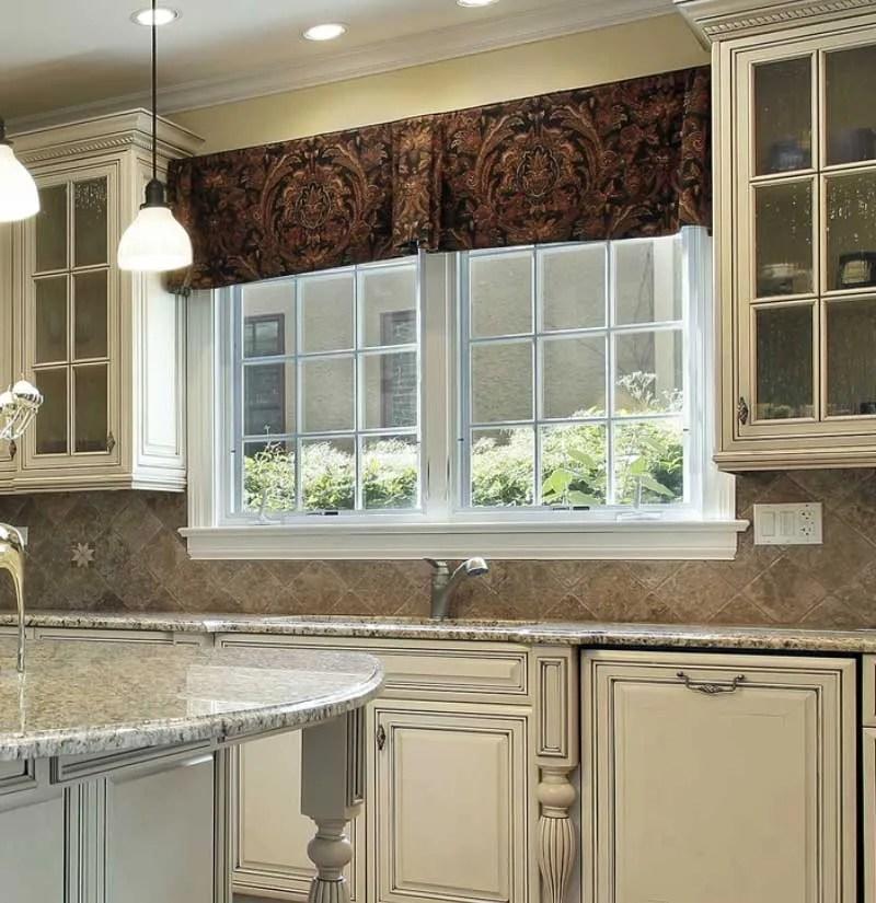 valance curtain ideas for kitchen