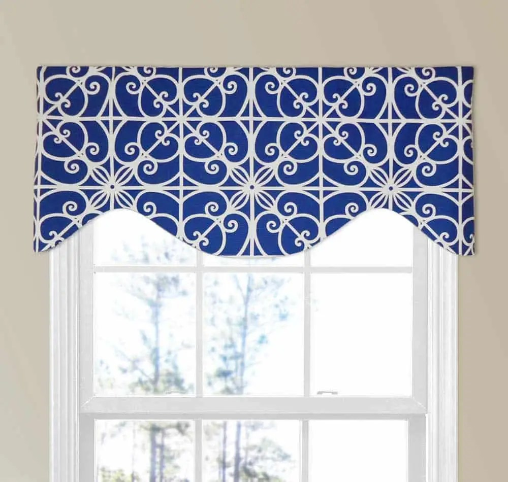 39 window valance curtain ideas from