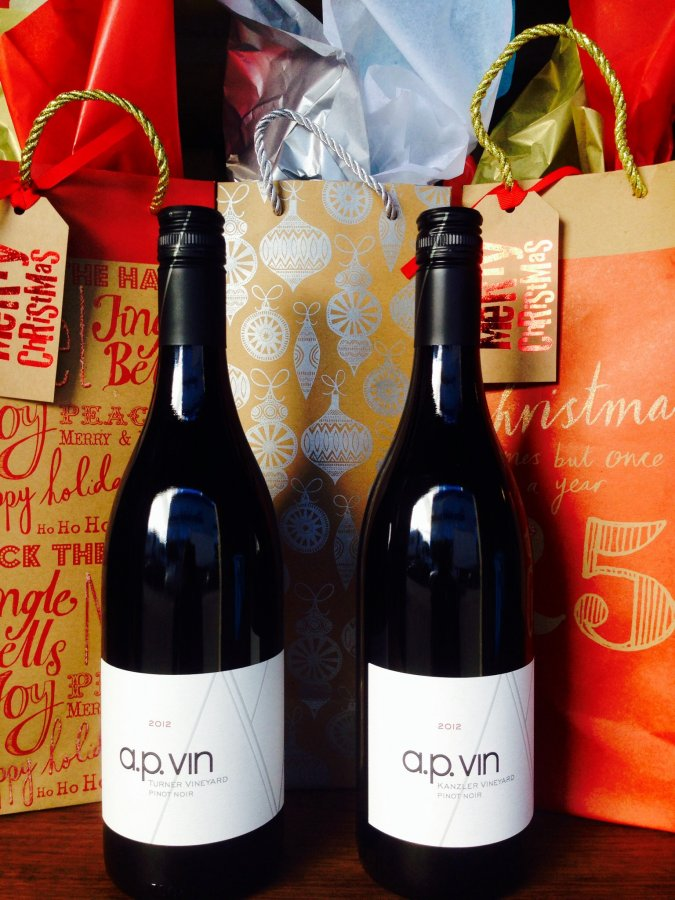 Gift wrapped bottles! Get yours now for all your favorite wine lovers!