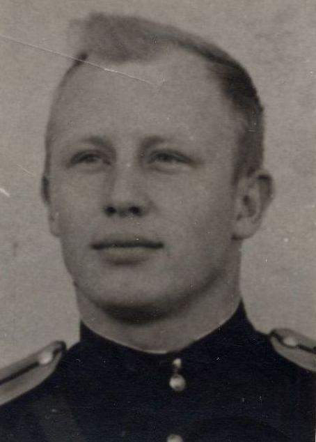 Слушатель КВИРТУ ПВО, 1955 г.