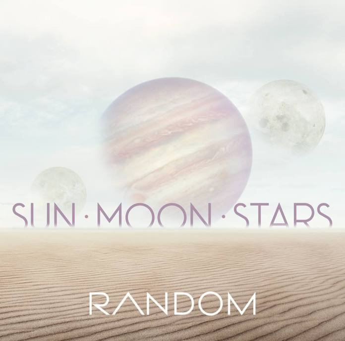 random sun moon stars