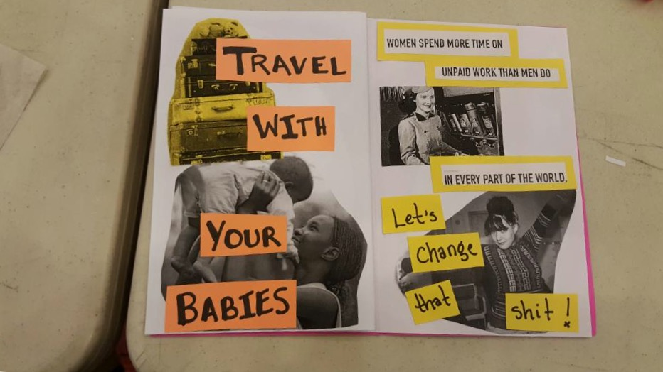 Preview of Latina and Grown, a feminist zine by Pris Blossom