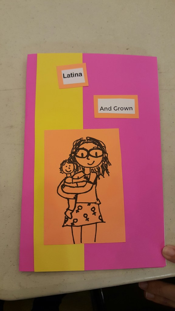 Latina and Grown - a feminist zine by Pris Blossom