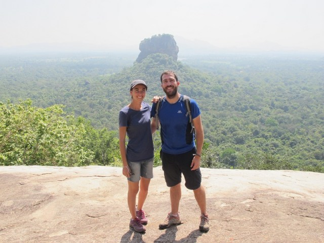 Vistas a Lion Rock desde Pidurangala