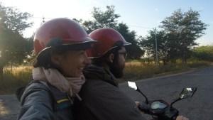 Primera experiencia en moto