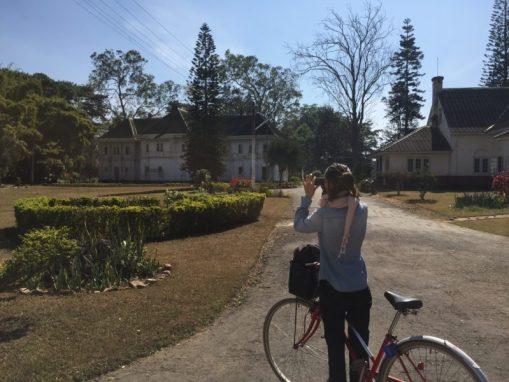 Hotel estilo colonial en Pyin Oo Lwin