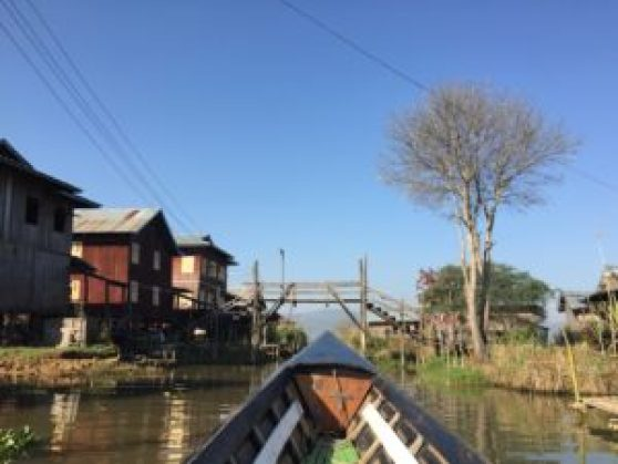 Recorriendo las aldeas del Lago Inle